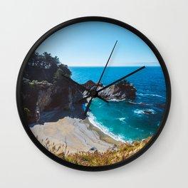 McWay Falls, Big Sur, California Wall Clock