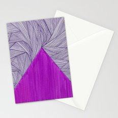 2 Purples Stationery Cards