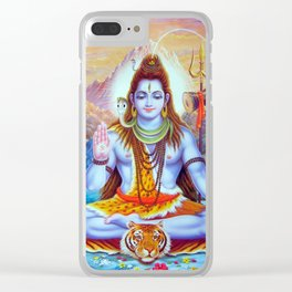 Shiva Clear iPhone Case