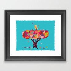 tweet, tweet! Framed Art Print