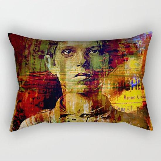 Paperboy Rectangular Pillow