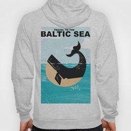 Baltic Sea travel poster Hoody