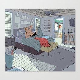Apartment Living Canvas Print