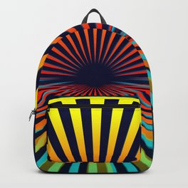 Sunset abstract 194 Backpack