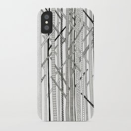Pattern Trees iPhone Case
