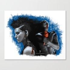Dragon Runner Canvas Print