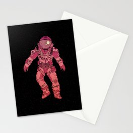 Adrift In Space (For David) Stationery Cards