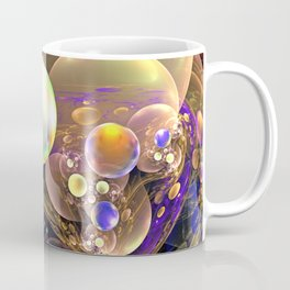 Gathering of the Planets, Fractal abstract Coffee Mug