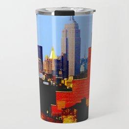 """NYC from L.E.S."" Travel Mug"