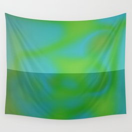 Yellow Color Leak Wall Tapestry