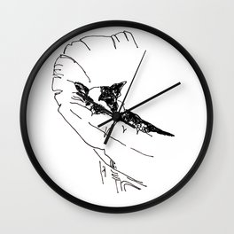 Dreaming of Malaga Wall Clock