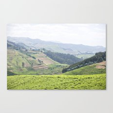 land of a thousand hills::rwanda Canvas Print
