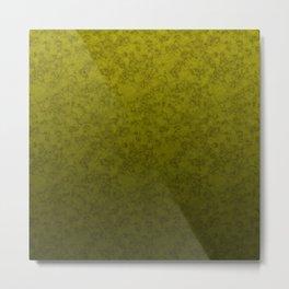 Olive marble Metal Print