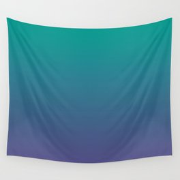 Bright Green Ultra Violet Gradient | Pantone Color of the year 2018 Wall Tapestry