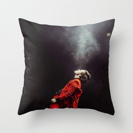 Harry on stage #1 Throw Pillow