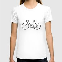 bicycle T-shirts featuring Bicycle by Luke Turner