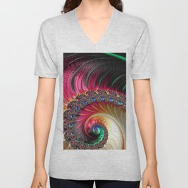 Electric Shell Unisex V-Neck