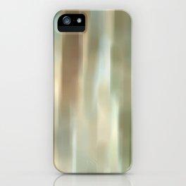 light breaks in iPhone Case