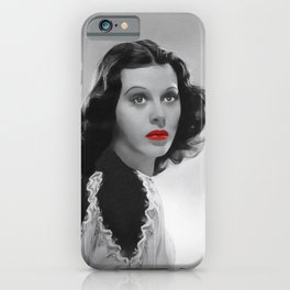 Hedy Lamarr, Hollywood Icon iPhone Case