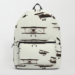 Retro airplanes Backpack