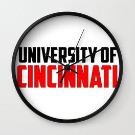 U of Cincinnati, Ohio Wall Clock