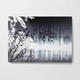 Herbstsee Metal Print