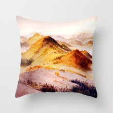 Vorarlberg in Austria Throw Pillow