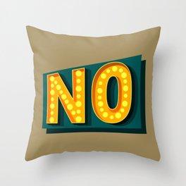 Take the hint Throw Pillow