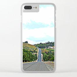 road up Clear iPhone Case