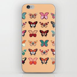 Butterflies collection 02 iPhone Skin