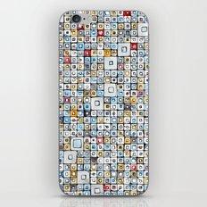 Grid#01 iPhone & iPod Skin