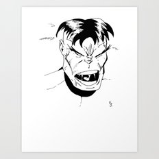 Hulk - You Wouldn't Like Me When I'm Angry - 2012 Art Print