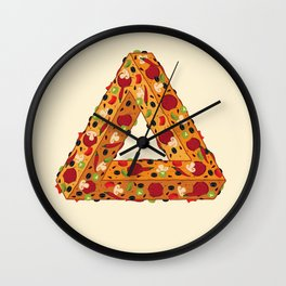 Penrose Pizza Wall Clock