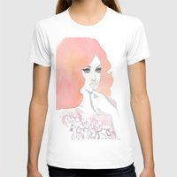 fashion illustration T-shirts featuring fashion illustration by Yulia Puchko