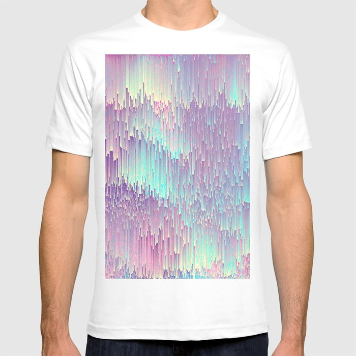 65cd725fcf15 Iridescent Glitches T-shirt by cafelab