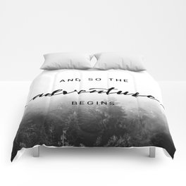 And So The Adventure Begins - New Day Comforters