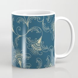 Dark Teal Elegance Coffee Mug