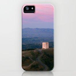Mt. Umunhum - San Jose, CA iPhone Case