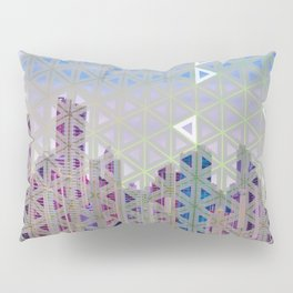 Triangled Skyline Pillow Sham