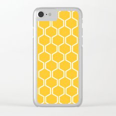 BEAUTY OF NATURE (bee , bees , yellow) Clear iPhone Case