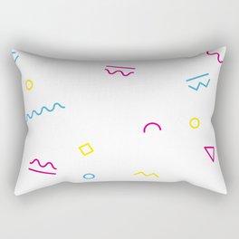 Modern Geometric Art Prints Rectangular Pillow