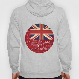 Union Jack Great Britain Flag Hoody
