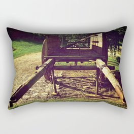 Country Wheels Rectangular Pillow
