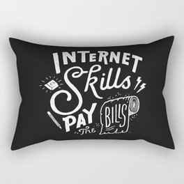 Pay the Bills Rectangular Pillow