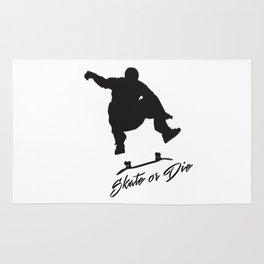 Skate or Die Rug