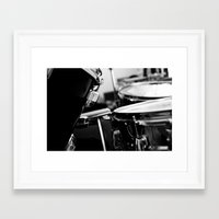 drums Framed Art Prints featuring Drums by Jazzy Cheveres