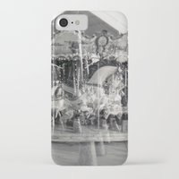 carousel iPhone & iPod Cases featuring Carousel by Ibbanez