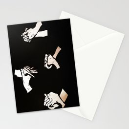 our hands  Stationery Cards