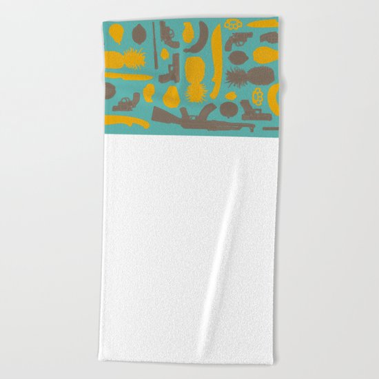 Maracaibo Beach Towel