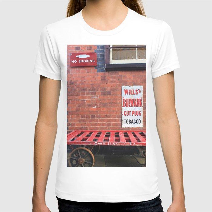 Vintage Railway Signs T-shirt